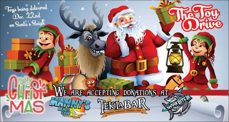 tekila-shark-mannys-toys It's beginning to look a lot like...Rocky Point Weekend Rundown!
