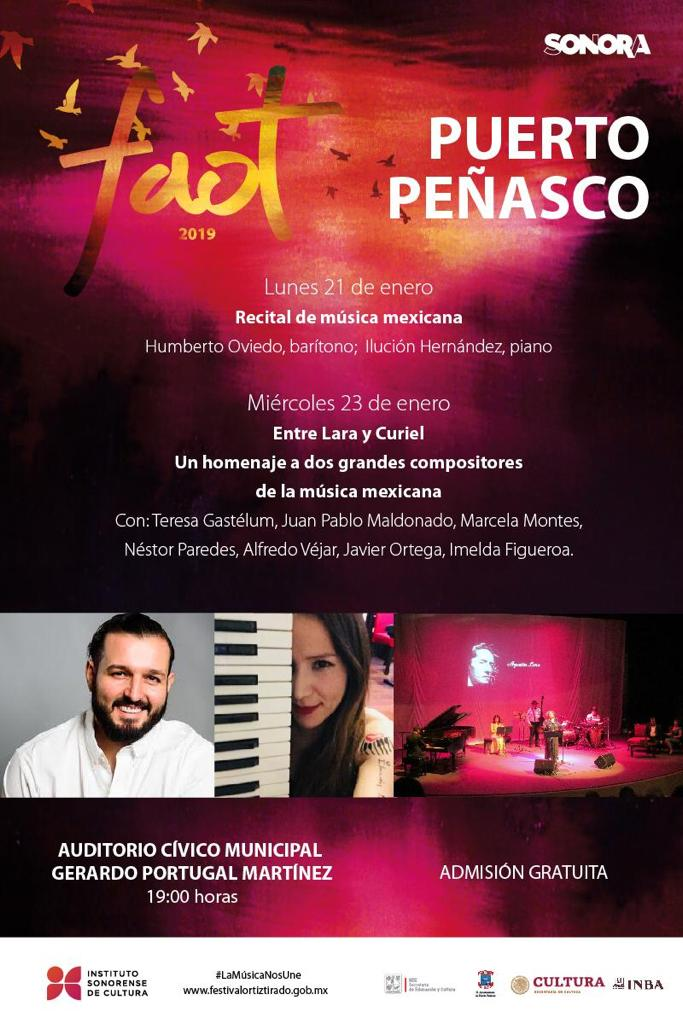 FAOT Arts Festival – extension Puerto Peñasco 2019
