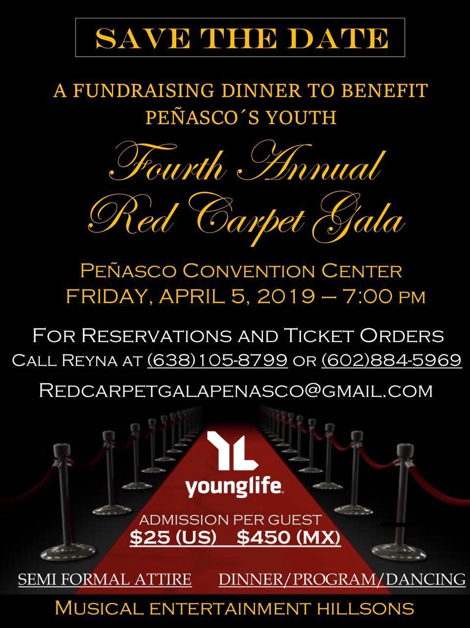Fourth Annual Vida Joven Red Carpet Gala @ Puerto Peñasco Convention Center