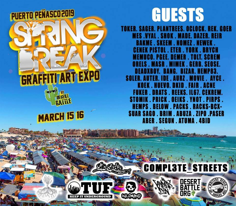 Spring-Break-Graffiti Graffiti Art Expo