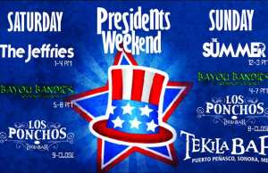Presidents Weekend Bash @ Tekila Bar @ Tekila Bar