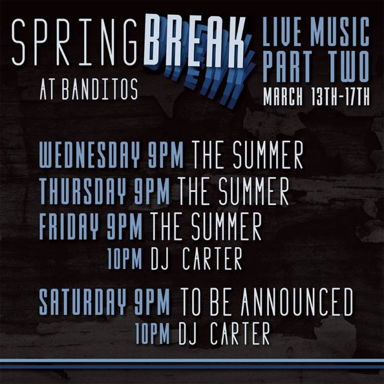 Banditos-Spring-Break-19 Spring Break @ Banditos