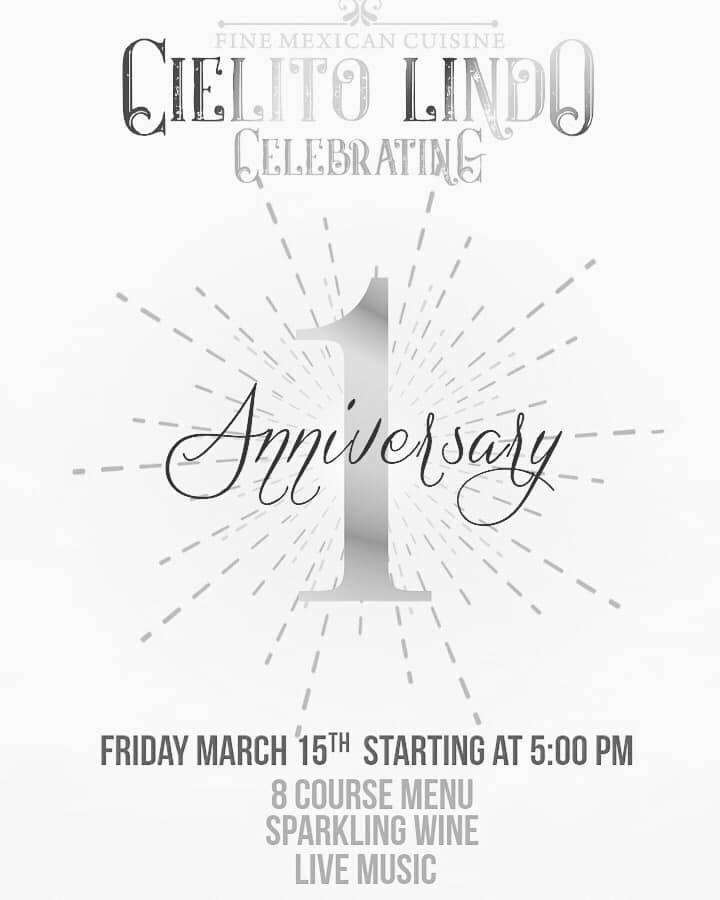 Cielito-Lindo-1-Anniversary Cielito Lindo 1 year Anniversary
