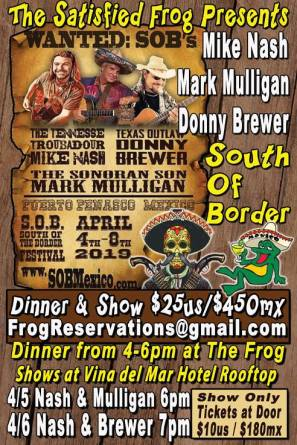 SOBs-at-the-Frog Ahhh-pril!  Rocky Point Weekend Rundown!