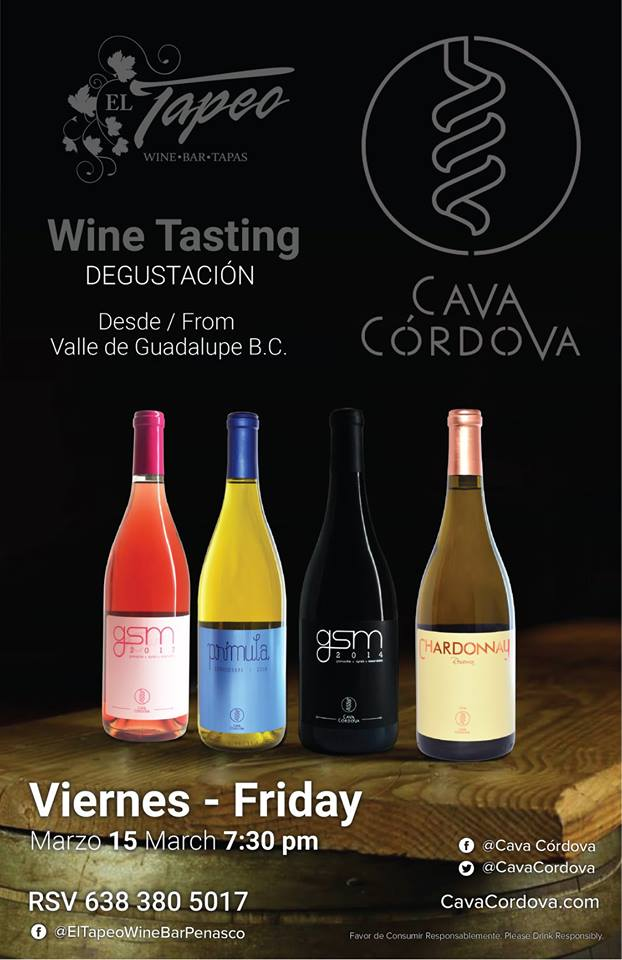 march-wine-tasting-tapeo Wine Tasting - Cava Cordoba