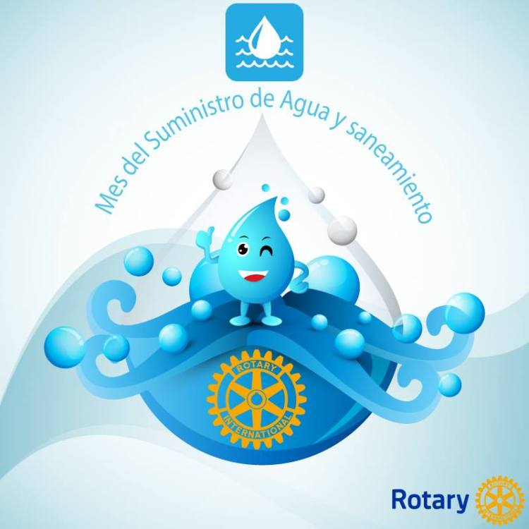 marzo-agua-gota Rotary Club grant aims to provide drinking water to public schools