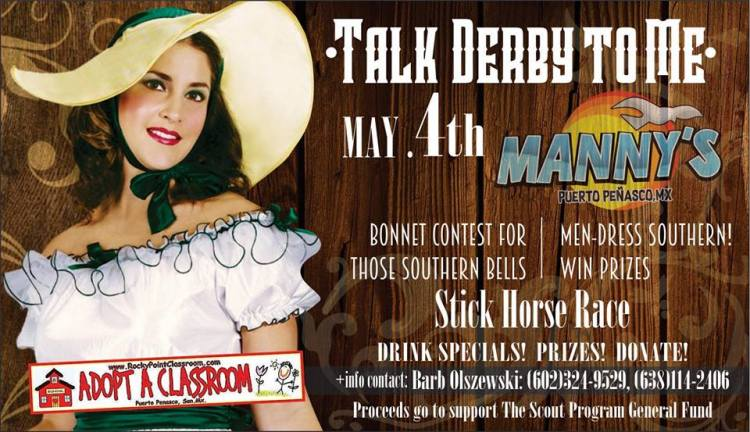 derby-mannys 5 de mayo Rocky Point Weekend Rundown!