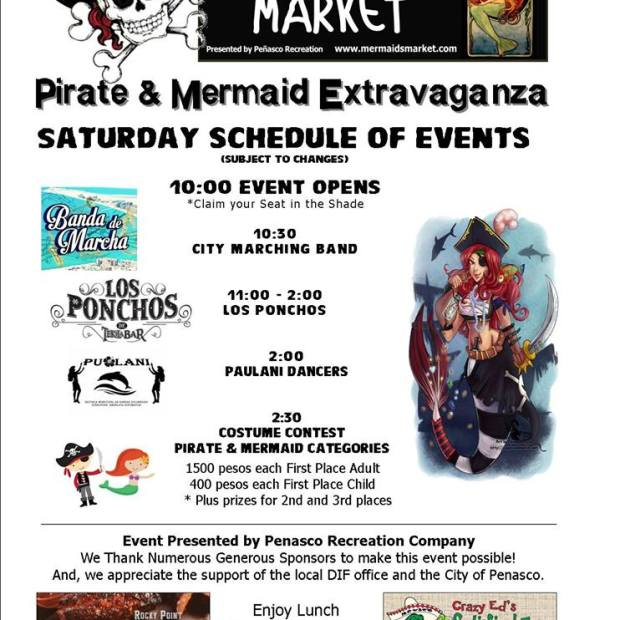 pirates-mermaids-calendar Ahhh-pril!  Rocky Point Weekend Rundown!
