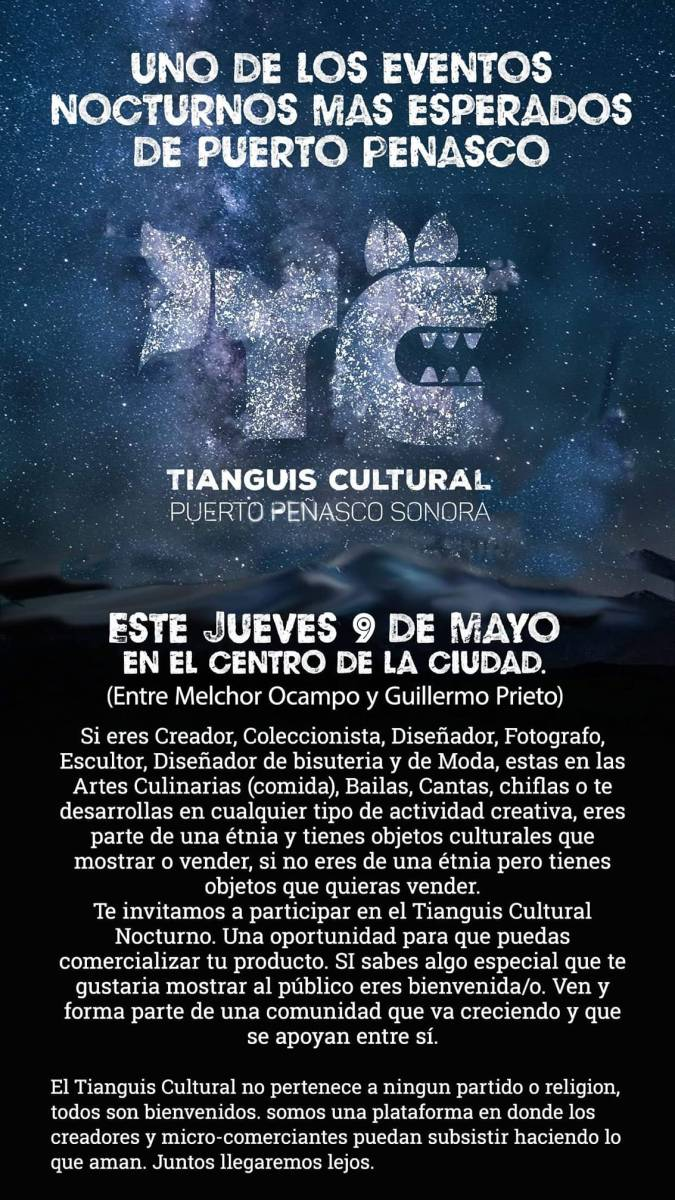 Tianguis-Cultural-Mayo-19-675x1200 Mother's Day - Rocky Point Weekend Rundown!