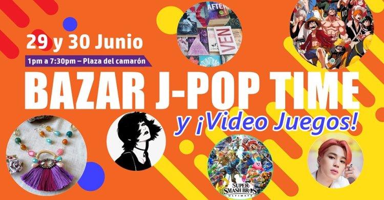 Bazar-J-Pop-Junio-19 Bazar J-Pop Time y Video Juegos!