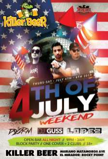 Fourth-of-July-Killer-Beer-19 4th of July @ the beach! Rocky Point weekend rundown!