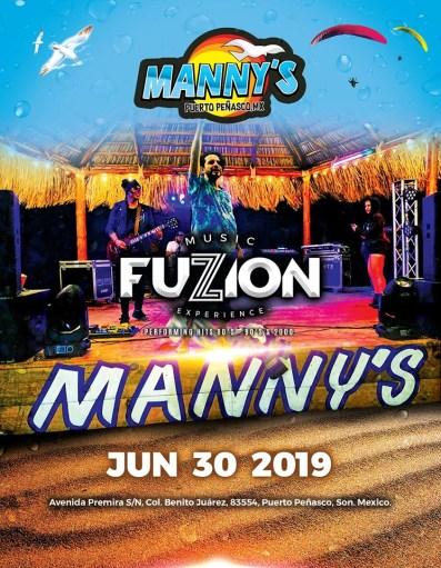 Fuzzion-Mannys-June-19 Sand! Sun! Summer! Rocky Point Weekend Rundown