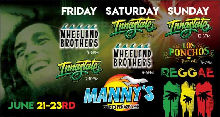 Mannys-Reggae-Weekend-June-19 Manny's Reggae Weekend!