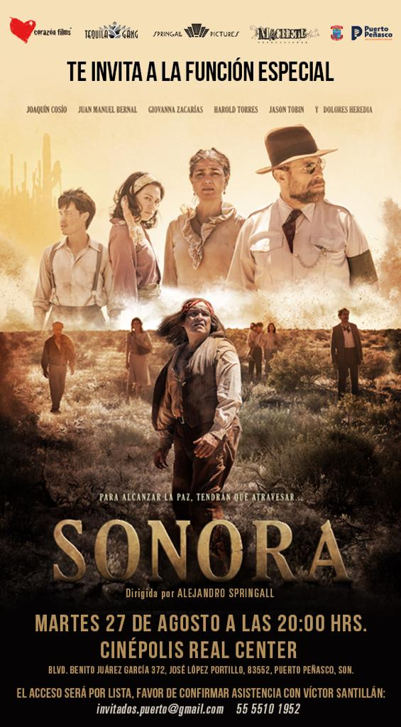 "Sonora-2019-film-Guillermo-Munro-4 Guillermo Munro warmly embraced at local premier of ""Sonora"""