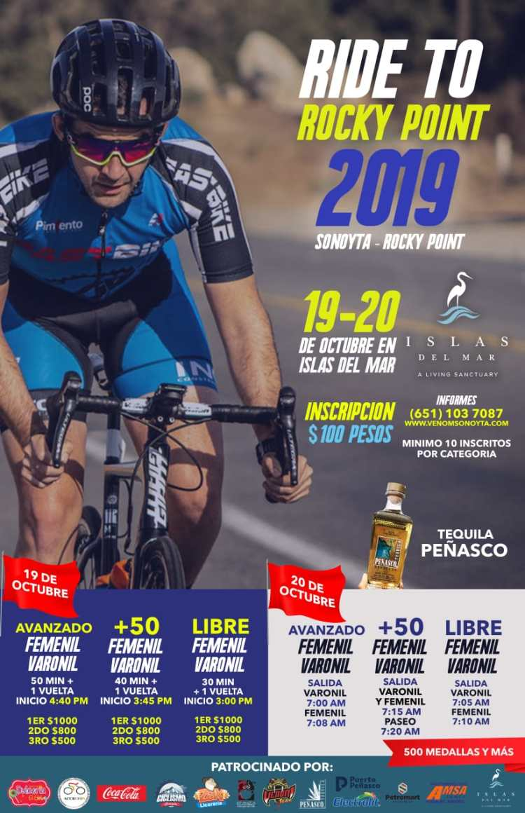 EVENTO-CICLICSTA-2019-776x1200 Color the town! Rocky Point Weekend Rundown!