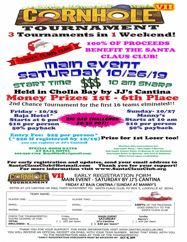 Santa-Claus-Club-Cornhole-Tourney-19 Eat your art out! Rocky Point Weekend Rundown!