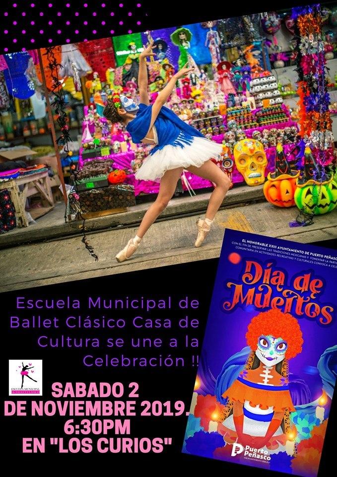 Escuela-Municipal-de-Ballet-Clasico-Nov-19 ¡Viva la Vida! Rocky Point Weekend Rundown!