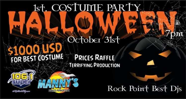 Mannys-Halloween-Costume-Party-19 ¡Viva la Vida! Rocky Point Weekend Rundown!