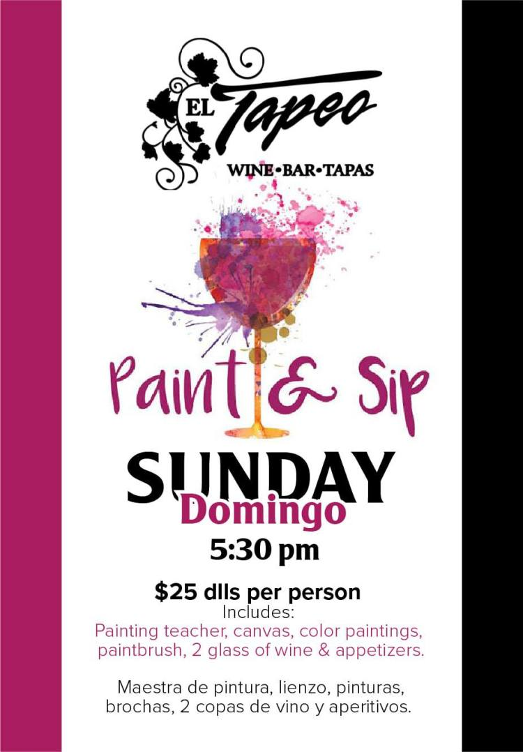 Paint-Sip-Club-Tapeo-Sundays-19-835x1200 Eat your art out! Rocky Point Weekend Rundown!
