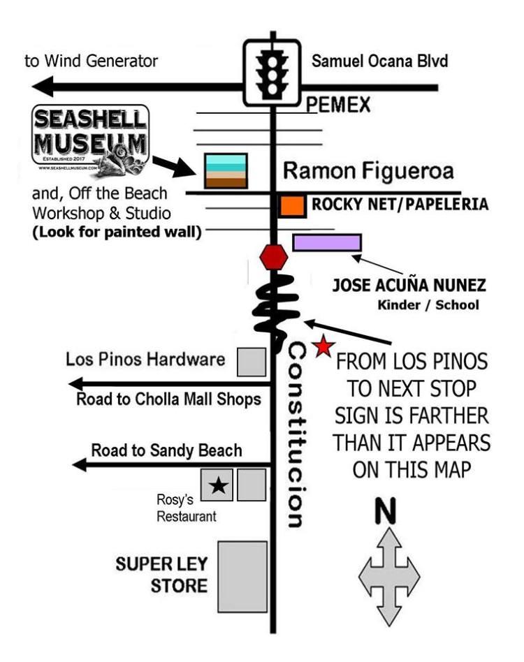 seashell-map-2019 ¡Viva la Vida! Rocky Point Weekend Rundown!
