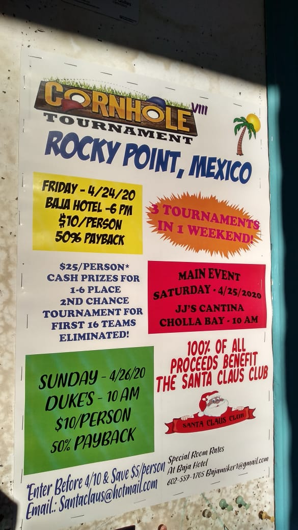 JJs-Cornhole-Tourney-20 Welcome, March! Rocky Point Weekend Rundown!