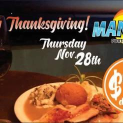 Mannys-Thanksgiving-19 Turkey plans 2019?