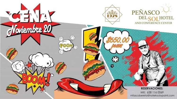 Pairing-dinner-1928-Dinner-club-Nov-19 1928 Dinner club Pairing Dinner at Peñasco del Sol
