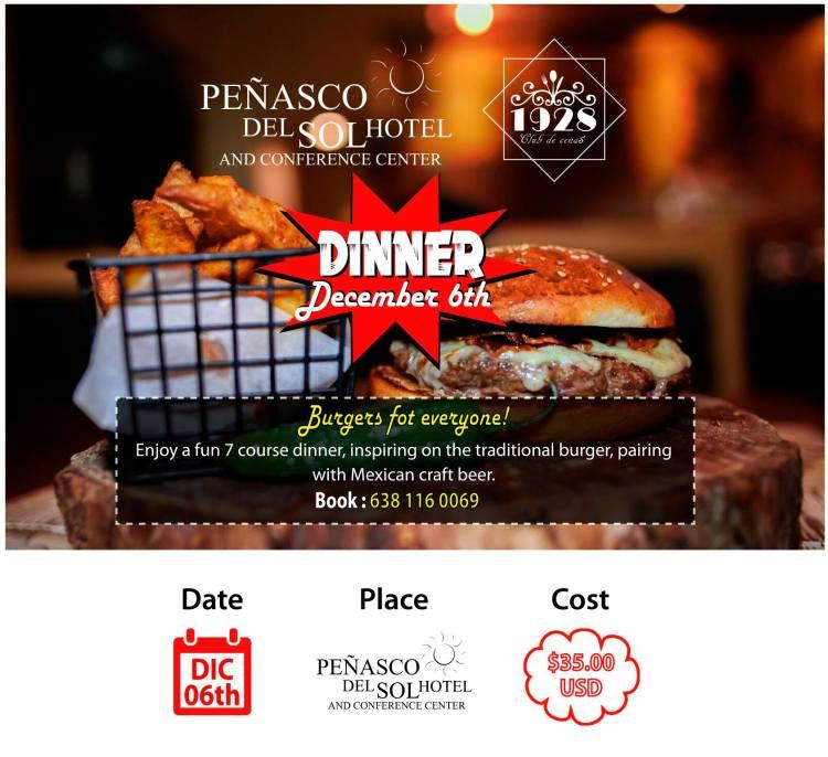 1928-Dinner-Club-Burgers-Dec-19-1200x1098 December, on! Rocky Point Weekend Rundown!
