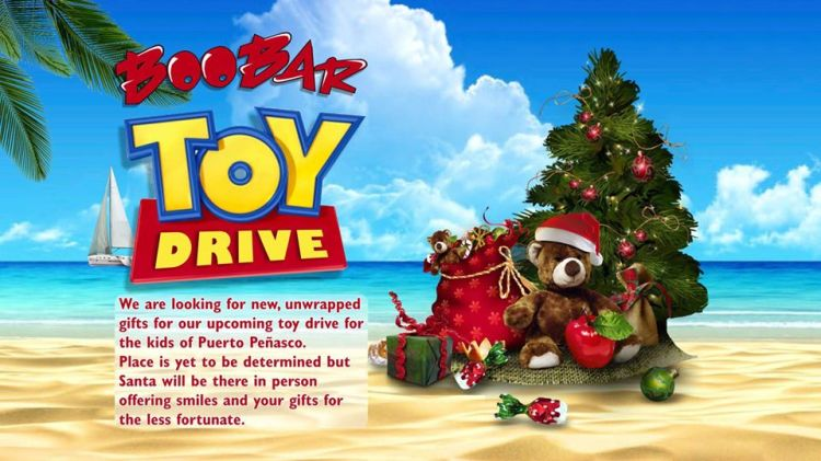 boobar-toy-drive Winter is coming! Rocky Point Weekend Rundown