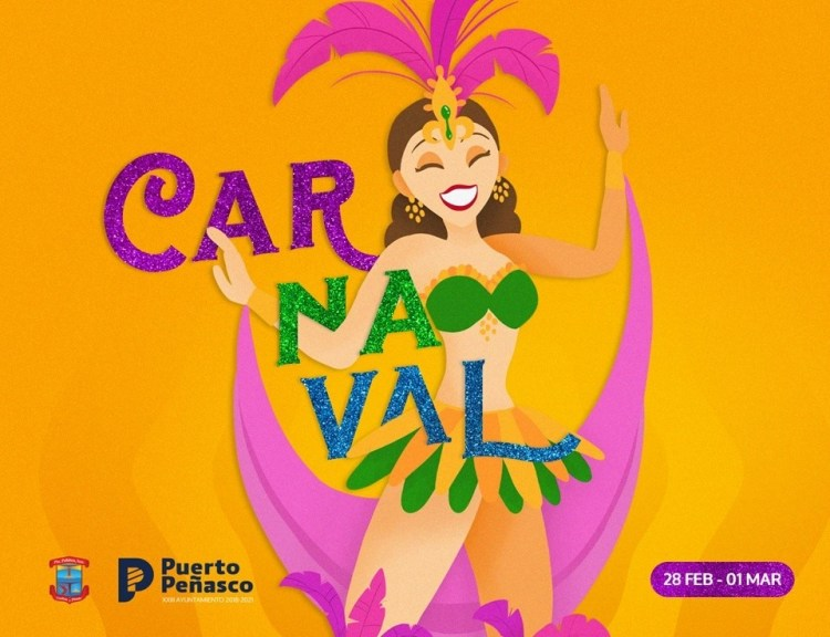 Carnaval-20 Viva Peñasco Carnaval activities set for end of Feb!