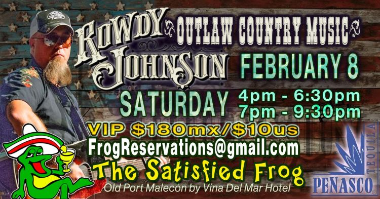 Rowdy-Johnson-Satisfied-Frog-20 Rowdy Johnson live at The Satisfied Frog