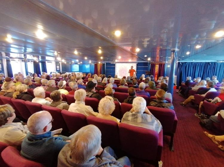 cedo-astoria CEDO staff promote ecotourism aboard the Astoria