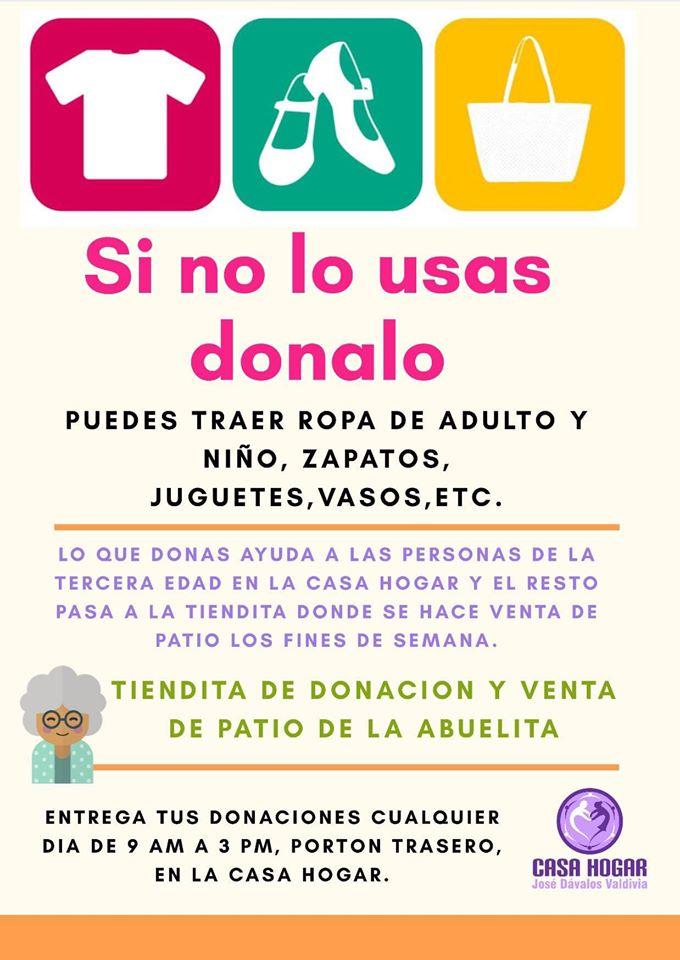 """donar-asilo-casa-hogar José Dávalos Valdivia """"Casa Hogar"""" Volunteers of the Year"""
