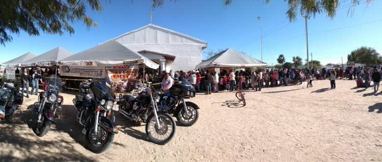 toy-run-tent Roar of motorcycles highlights 6th Annual Kings Day Toy Run