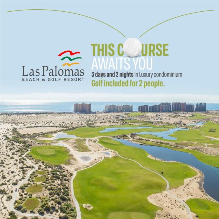 wigolf Winter Golf special at Las Palomas!