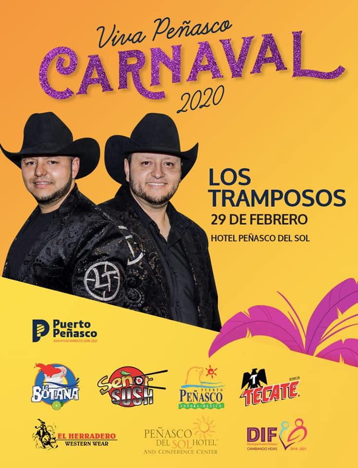 29-feb-b Viva Peñasco 2020 Carnaval Calendar