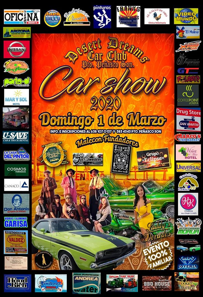 desert-dreams-car-show-2020 Whatcha got? AMOR! Rocky Point Weekend Rundown!