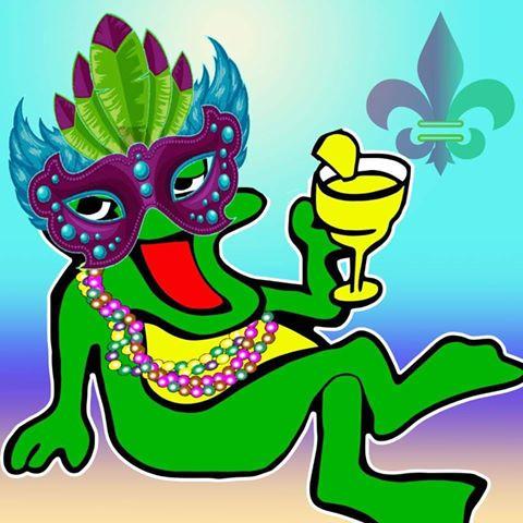 mardi-gras-frog Fins up! Rocky Point Weekend Rundown!