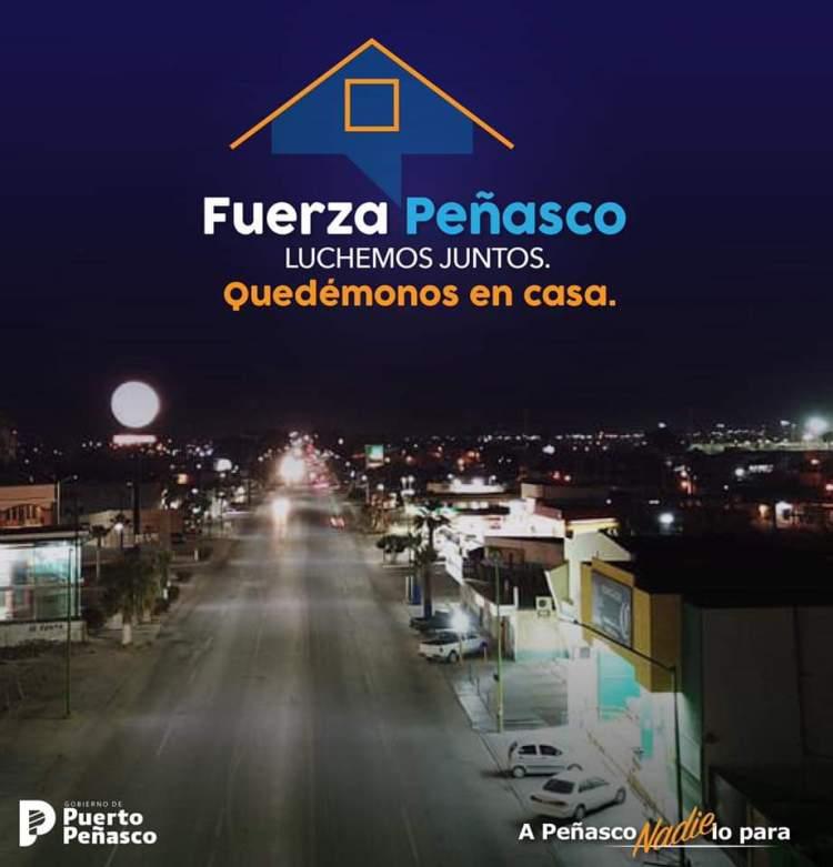 fuerza-penasco-en-casa Coordinated operations to prevent coronavirus in Puerto Peñasco