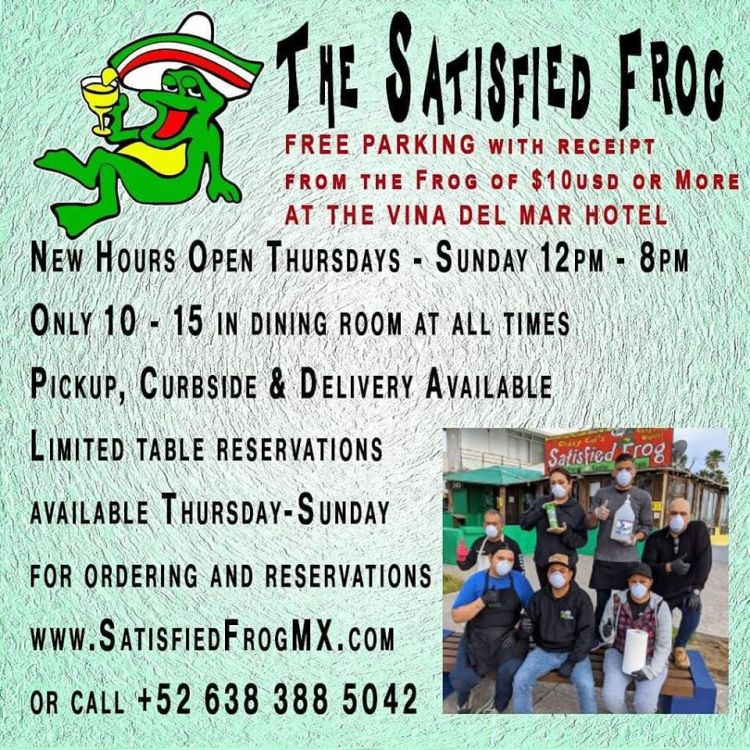 the-satisfied-frog-march-21 #ConsumeLocal #supportlocalbusiness