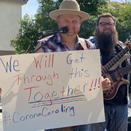 matt-farris-coronacaroling The (Ánimo) Helpers Part 3 of … Covid-19 Column