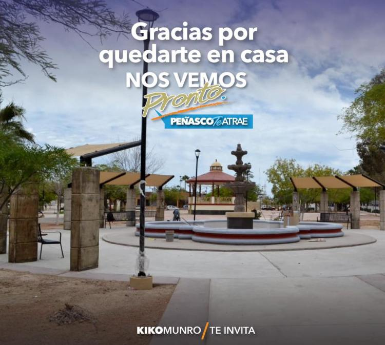 gracias-quedateEnCasa Puerto Peñasco proposes phasing in gradual reopening of activities starting May 18th