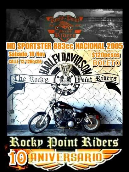 rocky-point-riders-bike-raffle 2018 Rocky Point Rally Calendar a Puerto Penasco tradition!