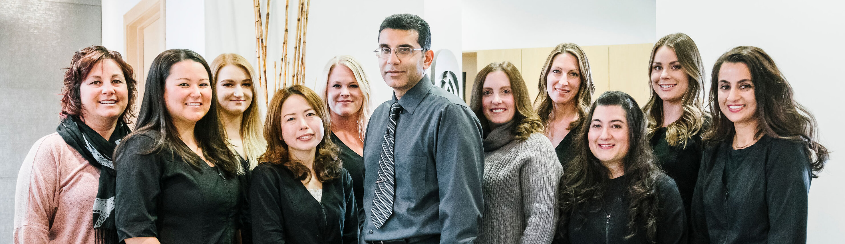 The Rocky Ridge Dental team in Calgary