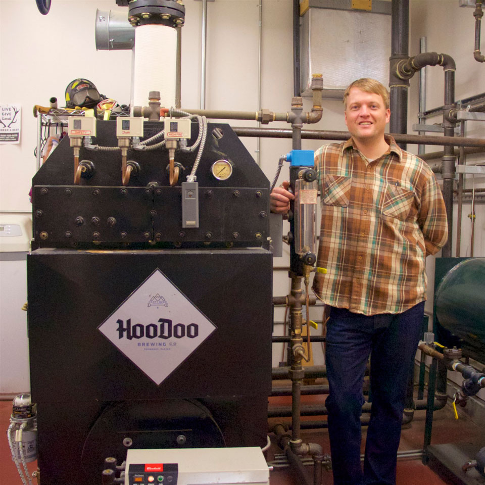 Commercial Boiler Installation at HooDoo Brewing in Fairbanks Alaska