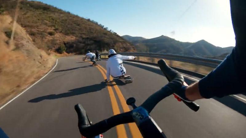 Longboard-vs-Cyclist-0