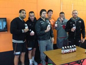 West Tigers with Oxyblast.