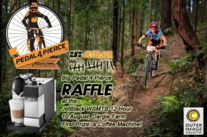 Help raise Chris raise funds with Pedal 4 Pierce.