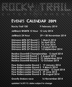 RTE events calendar 2014