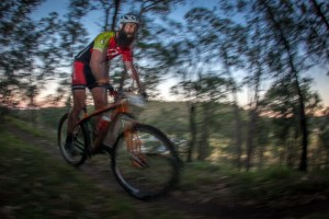 Singlespeed winner Brett Bellchambers. Photo: Outer Image Collective